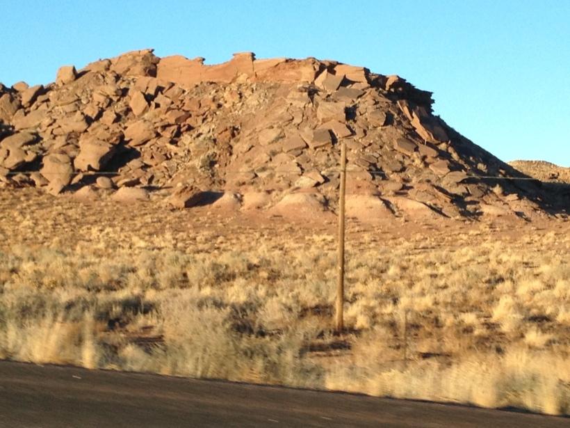 Nevada, very dry