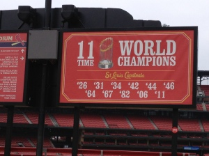 I can't believe the Cards won 11 championships