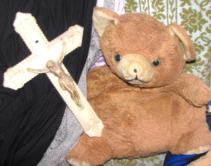 Tony, the religious Teddy.